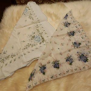 Accessories - Vintage Handkerchiefs